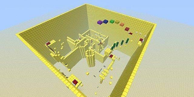 Карта Паркур / Parkour для minecraft 1.5.2, 1.5.1