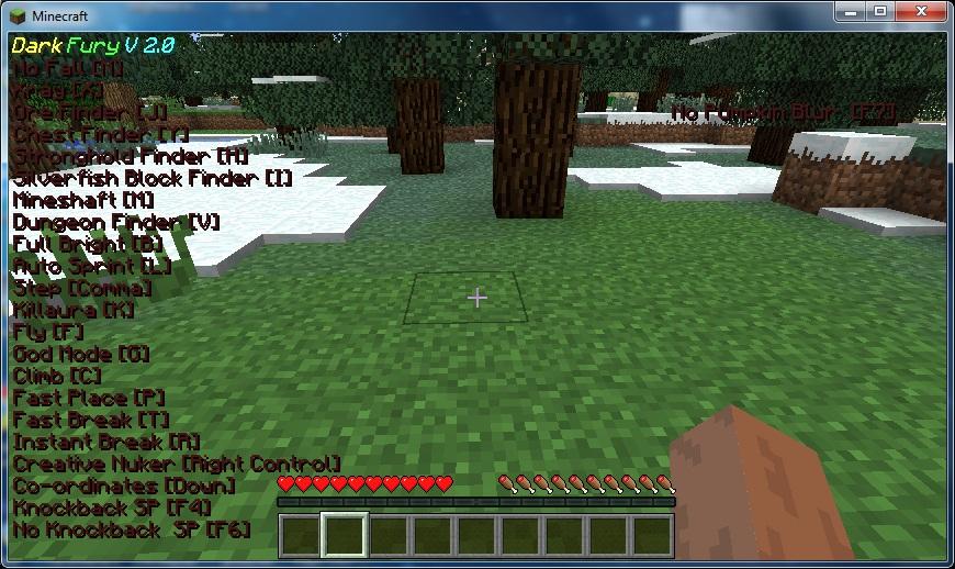 Скачать читы для MineCraft 1.10, 1.9.4, 1.9 - fly-hack ...
